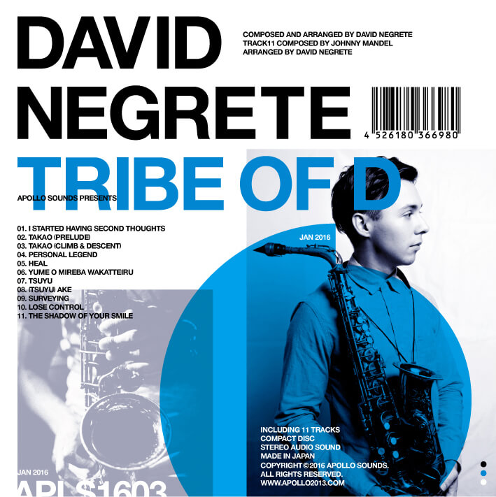"DAVID NEGRETE ""TRIBE OF D"""